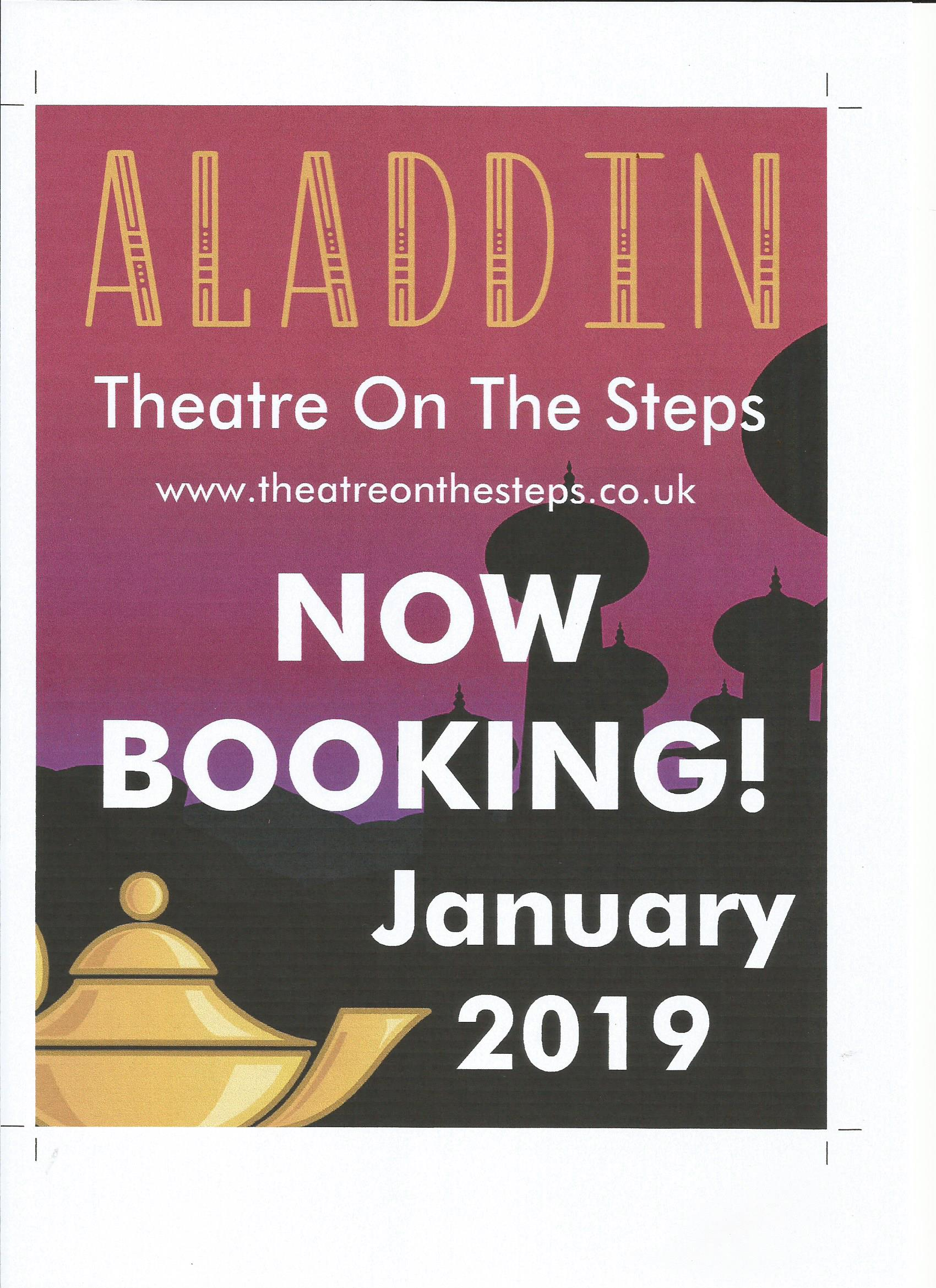 Aladdin - fun filled traditional pantomime!