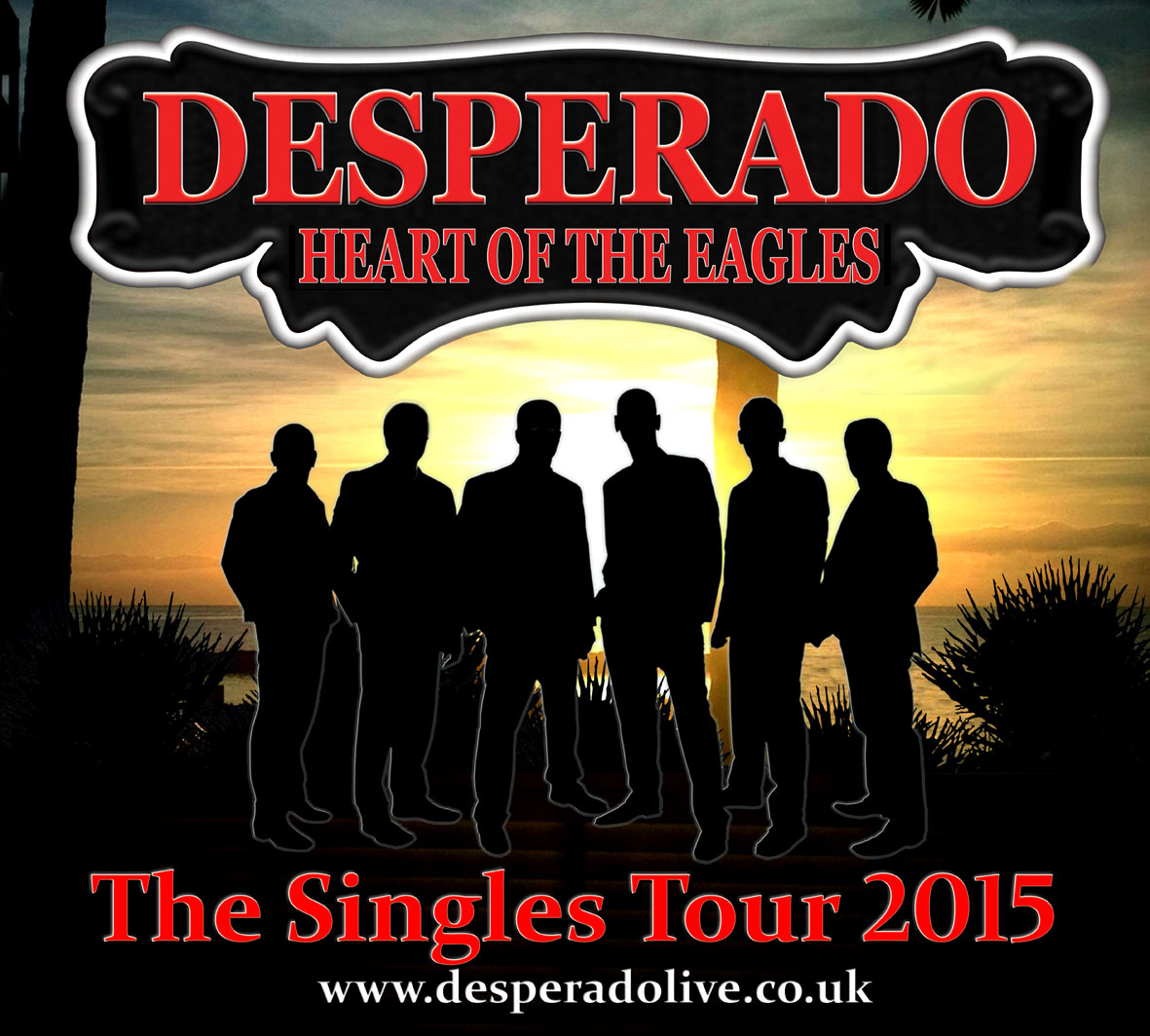 THE SINGLES TOUR 2015. - superb tribute to the music of The Eagles.