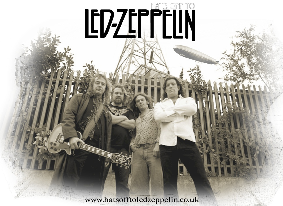 'Hats off to Led Zeppelin' - A stunning tribute to the greatest rock band ever!
